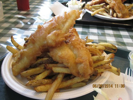 Sydelle's Fish and Chips: Fish and Chips