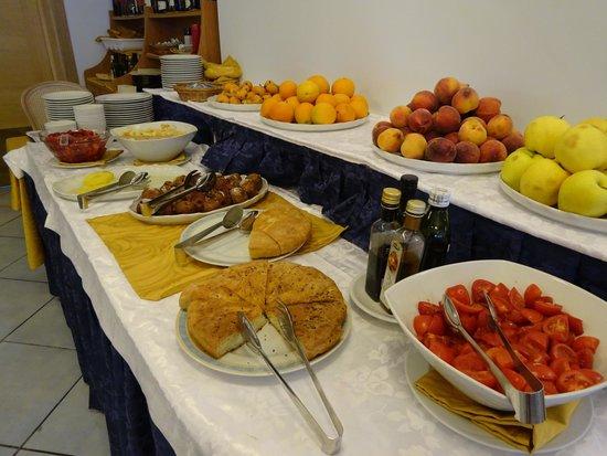 Aragona Palace Hotel : colazione