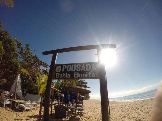 Pousada Bahia Bonita: Praia perfeita