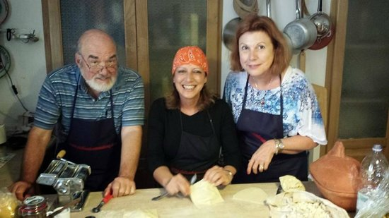 Sicilian Demo Cooking: Making pasta