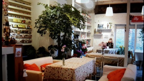 Minghantang International Youth Hostel : 明涵堂咖啡店