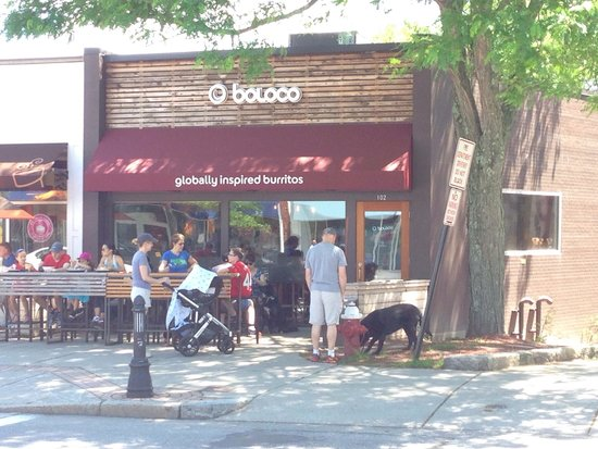 Busy lunchtime at Boloco