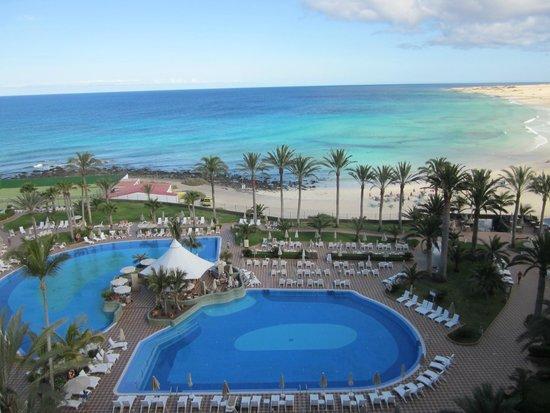 Hotel Riu Palace Tres Islas : Blick von der Terrasse
