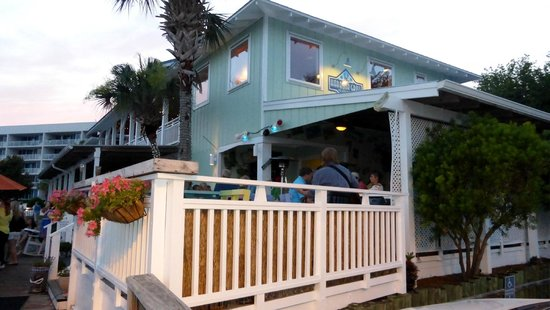 Shipp's Harbour Grill : View of the restaurant while waiting on a table.