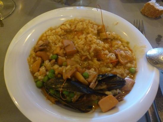 EL CELLER VELL: arroz caldoso de pescado