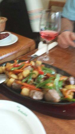 Restaurante Bar Andaluz: Oh ja diese gemischte Pfanne nach Art Al Andaluz super lecker