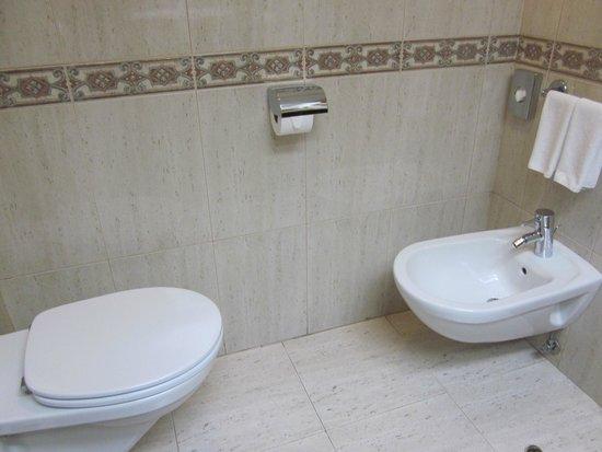 Hotel Riu Palace Tres Islas : WC und Bidet