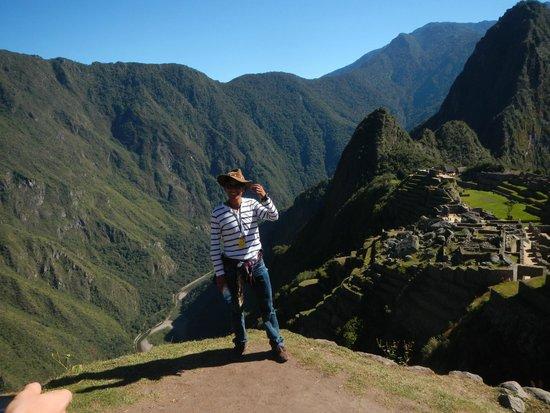 Munaycha : Ruli, our terrific guide