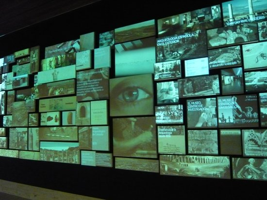 Museo Arqueológico Nacional: Hall para empezar visita