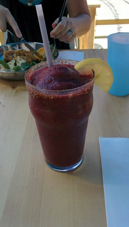 Propulsion : Blackberry banana smoothie.