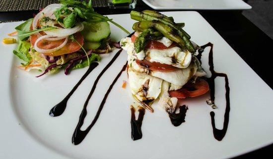 Café Do Museu : Mozzarella salad