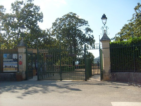 Chateau des Milandes: l'entrée