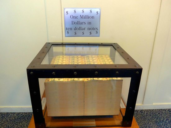 Bureau of Engraving and Printing: 1 million dollars!