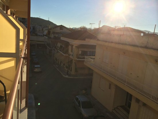 Neda Hotel : view from the balcony