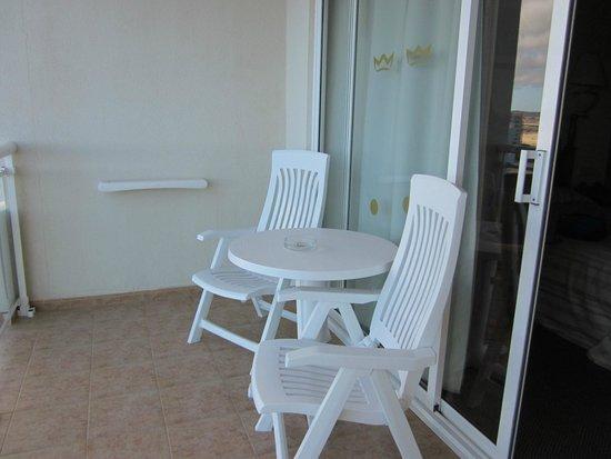 Hotel Riu Palace Tres Islas: Terrasse