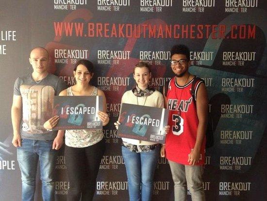 Breakout Manchester: We escaped!