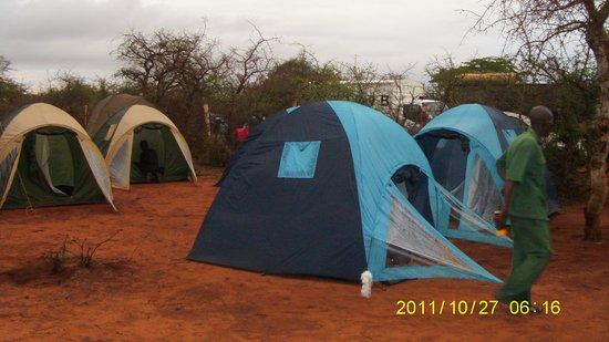 Muteleu Maasai Traditional Village: Camping at Muteleu Village
