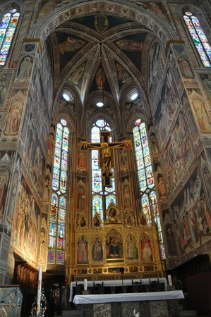 Basilica di Santa Croce: Santa Croce interior