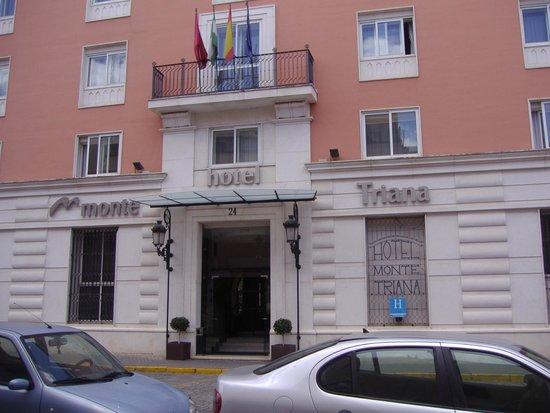 Monte Triana Hotel : Entrada.