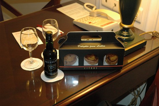 Lisbon Marriott Hotel: regalos por upgrade