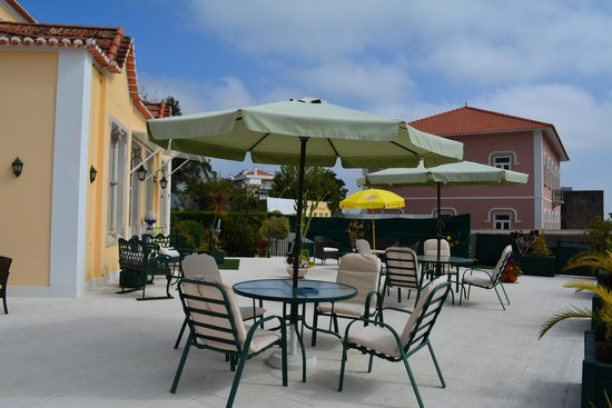 Hotel Nova Sintra: Lovely terrace