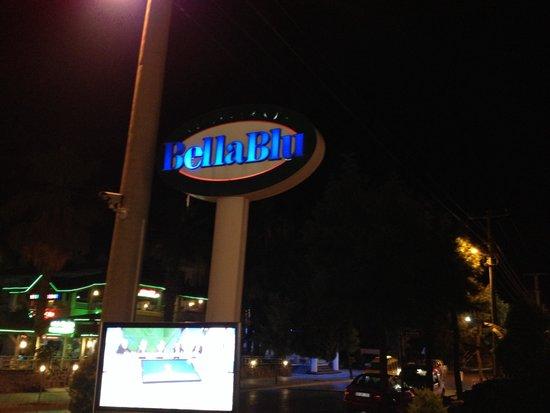 Club Anastasia: Bella Blu Restaurant