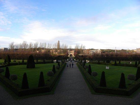Irish Museum of Modern Art (IMMA): il parco!