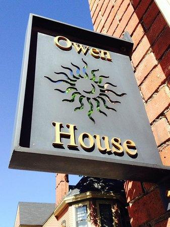Inn on Ferry Street: Owen House sign