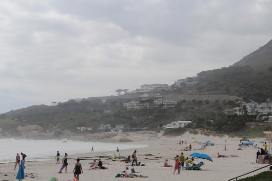Camp's Bay Beach : Vista geral