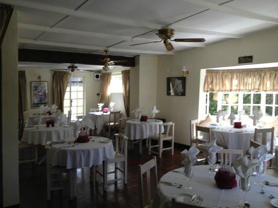 terrace dining room banff | The Deck pool area - Picture of Banff Lodge, Bulawayo ...