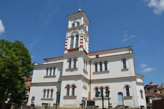 Krusevo, جمهورية مقدونيا: St. Nikola church is the cathedral in the town