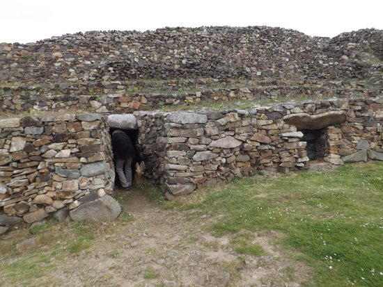 Cairn de Barnenez : Entry to the cairn