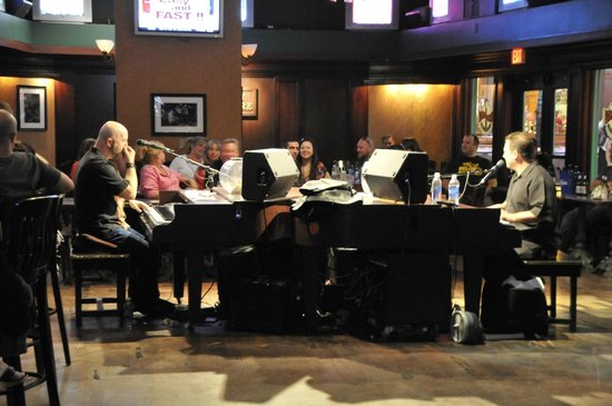 New York - New York Hotel and Casino : Duelling Pianos