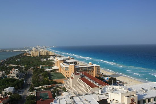 Secrets The Vine Cancun : View from our room