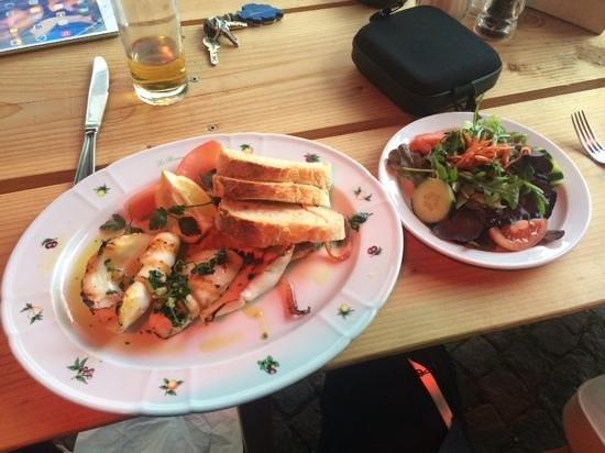 La Romantica: calamares vom grill