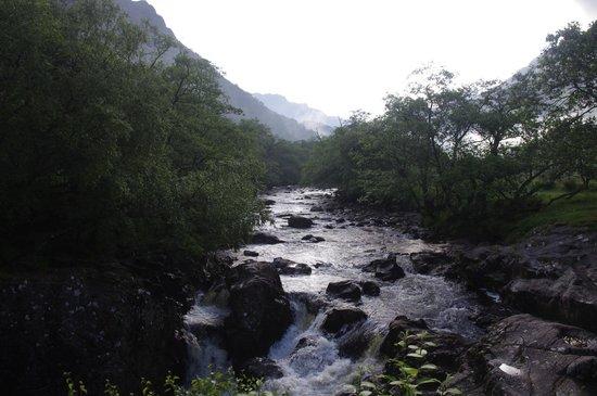 Steall Waterfall : River Nevis