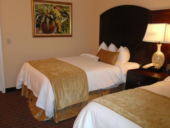 Embassy Suites by Hilton Orlando Lake Buena Vista South: Bedroom with 2 King size beds