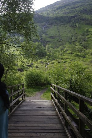 Steall Waterfall: On the way