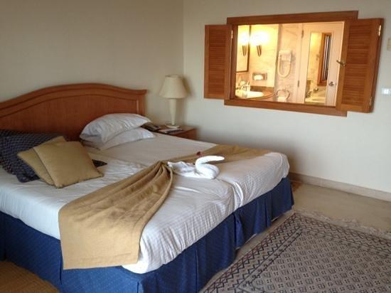 Saphir Palace & Spa : la chambre vu sur mer