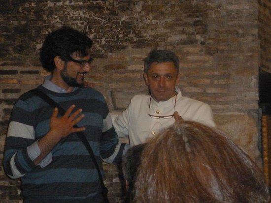 Ristorante Terme di Diocleziano : Alfio & owner Dario I think - his mother makes the BEST lasagna!