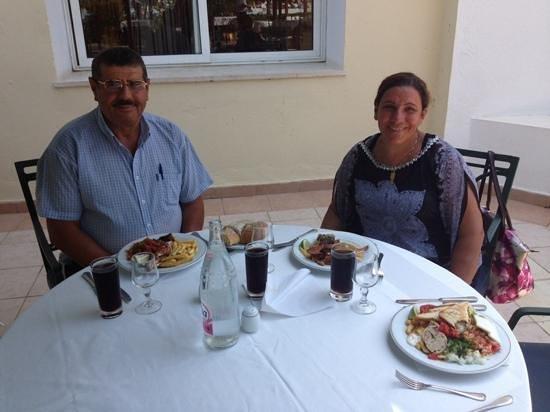 Saphir Palace & Spa : repas tres copieux