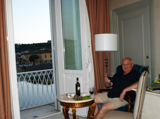 The Westin Excelsior Florence: Comfortable seating!
