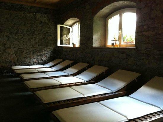 Terme di Pre Saint Didier : Sala relax