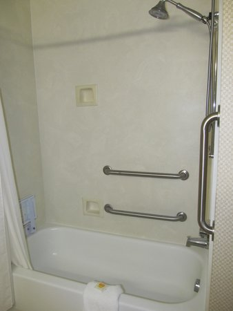 Holiday Inn Express Hotel & Suites London : Handicap tub Room 203