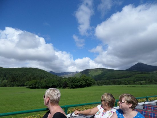 Open Top Bus Tour Of The Island Of Arran Picture Of Isle