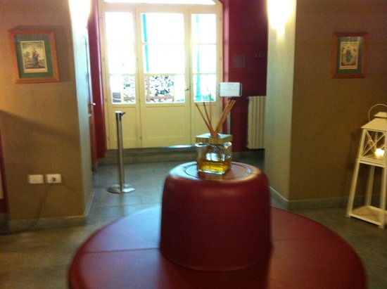 Terme di Pre Saint Didier : Sala all'ingresso