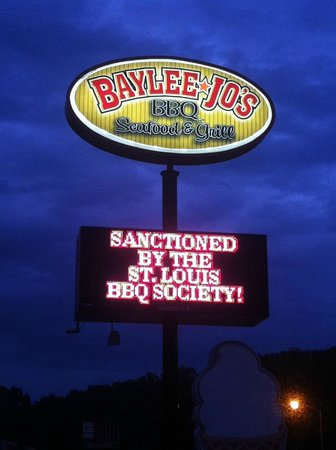 Baylee Jos BBQ: Best BBQ ever...Baylee-Joe's, Ironton, MO