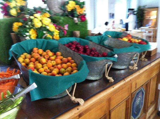 Terme di Pre Saint Didier: Buffet di frutta