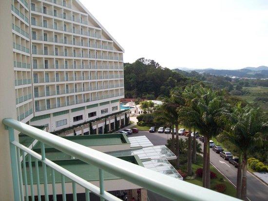 Bourbon Atibaia Convention & Spa Resort: VISTA DO APARTAMENTO