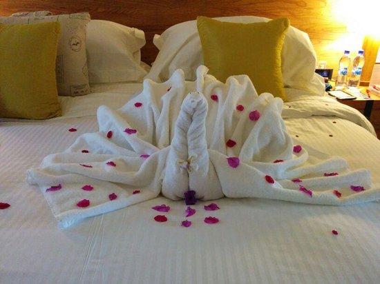 Outrigger Mauritius Beach Resort : camera. .al rientro da una gita